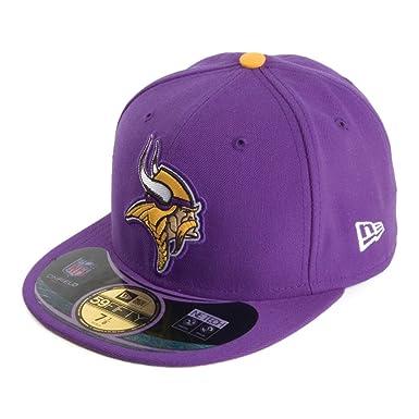 New Era 59FIFTY Minnesota Vikings Baseball Cap - Purple 7  Amazon.co ... 0b3f0178dc2