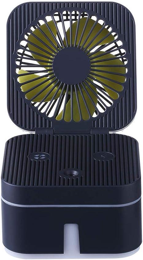 ALLTA 2019 Rubik Cube humidificador con Ventilador con Ambiente de ...