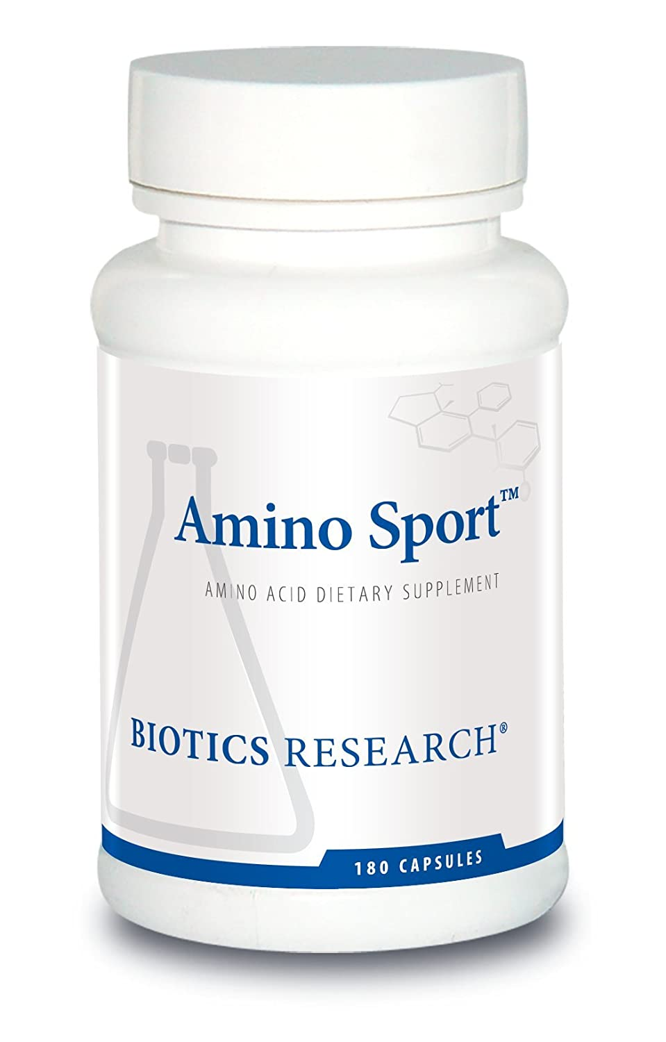 Biotics Research Amino Sport – Broad Spectrum Amino Acids, Essential Amino Acids, BCAAs, Sports Recovery, Support Lean Muscle Mass 180 Caps