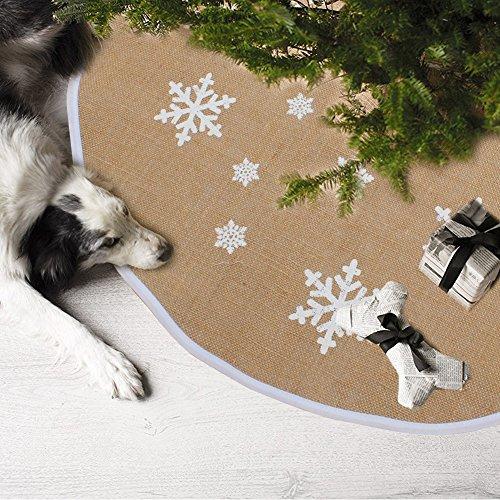6 Aytai Christmas Snowflake Printed Decorations