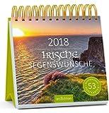 Irische Segenswünsche 2018: Postkartenkalender