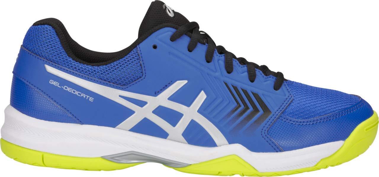 ASICS Gel-Dedicate 5 Men's Tennis Shoe, Illusion Blue/Silver, 8 D US