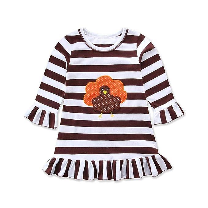 Amazon.com: Pocciol Clearance/Happy Thanksgiving - Vestido ...