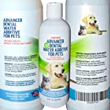 Sonnyridge Dog Advanced Dental Water Additive Removes Tartar and Plaque and Reduces Periodontal Disease for Your Dog or Cat.