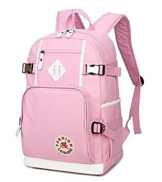 73780fad059 Amazon.com   AGOWOO Popular Heavy Duty Teens High School Backpack Bookbag  for Boys Girls   Kids  Backpacks