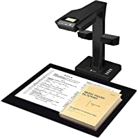 CZUR ET18 Pro Professional Document Scanner, 2nd Gen Auto-Flatten & Deskew Tech,18MP Sony Camera,Capture Size A3, Smart…