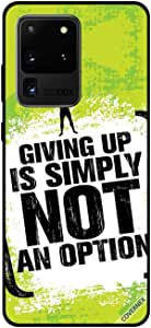 For Samsung S20 Ultra Case Giving Up Is Simply Not An Option