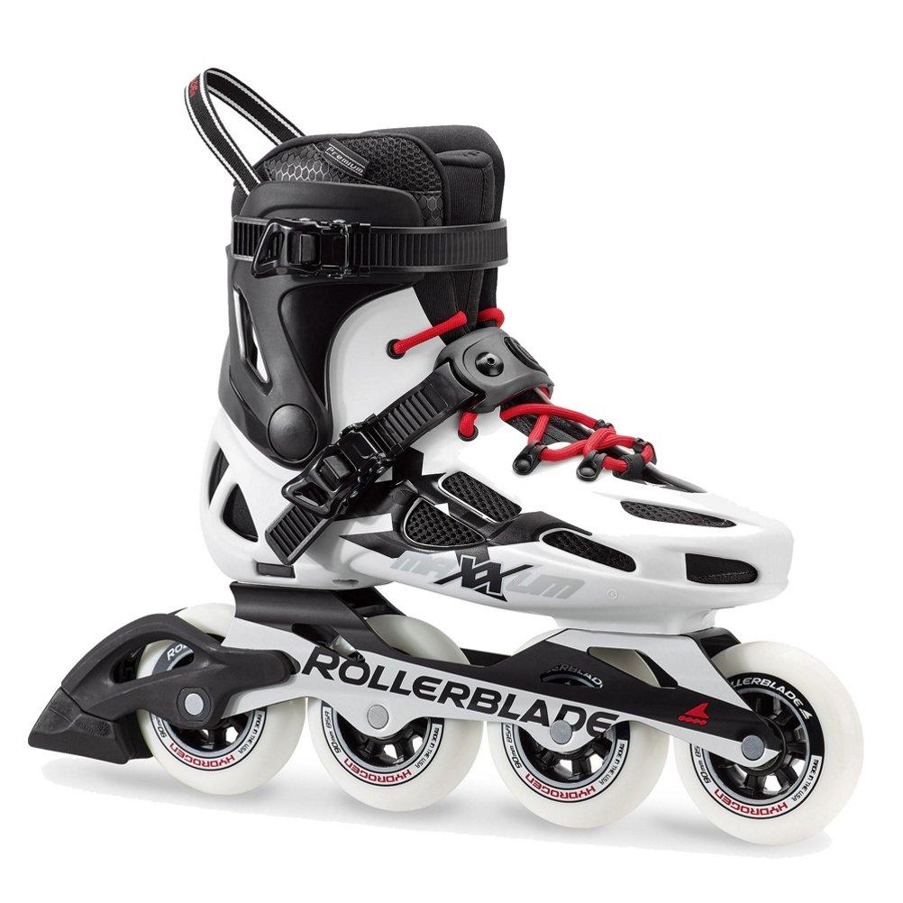 Rollerblade Men's Maxxum 90 Fitness Inline Skate, Black/White, Size 12