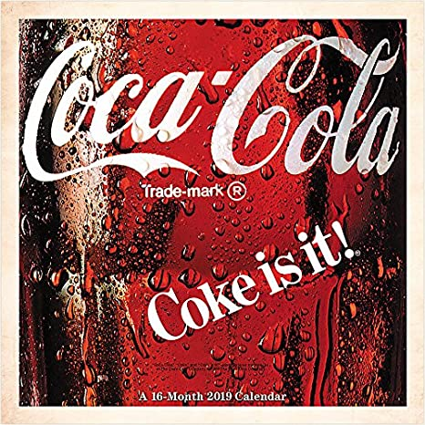 Amazon.com: COCA-COLA 2019 - Calendario de pared (4.7 x 4.7 ...
