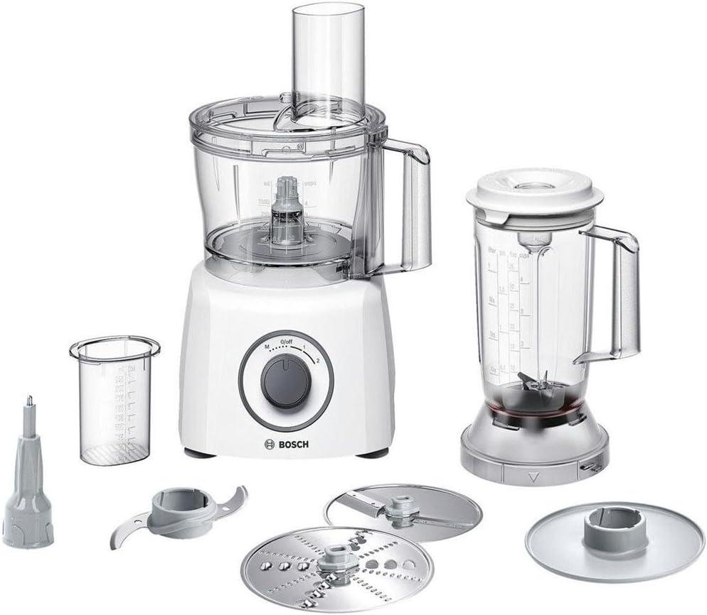 Bosch MCM3200 W Robot de cocina (Potencia 800 W) Color Blanco ...
