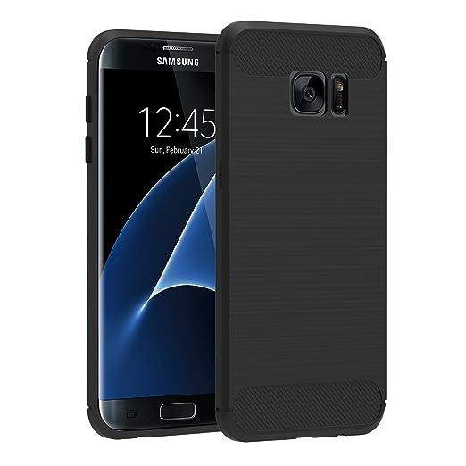 13 opinioni per Cover Samsung Galaxy S7 Edge , iVoler Nero Custodia Samsung Galaxy S7 Edge [Slim