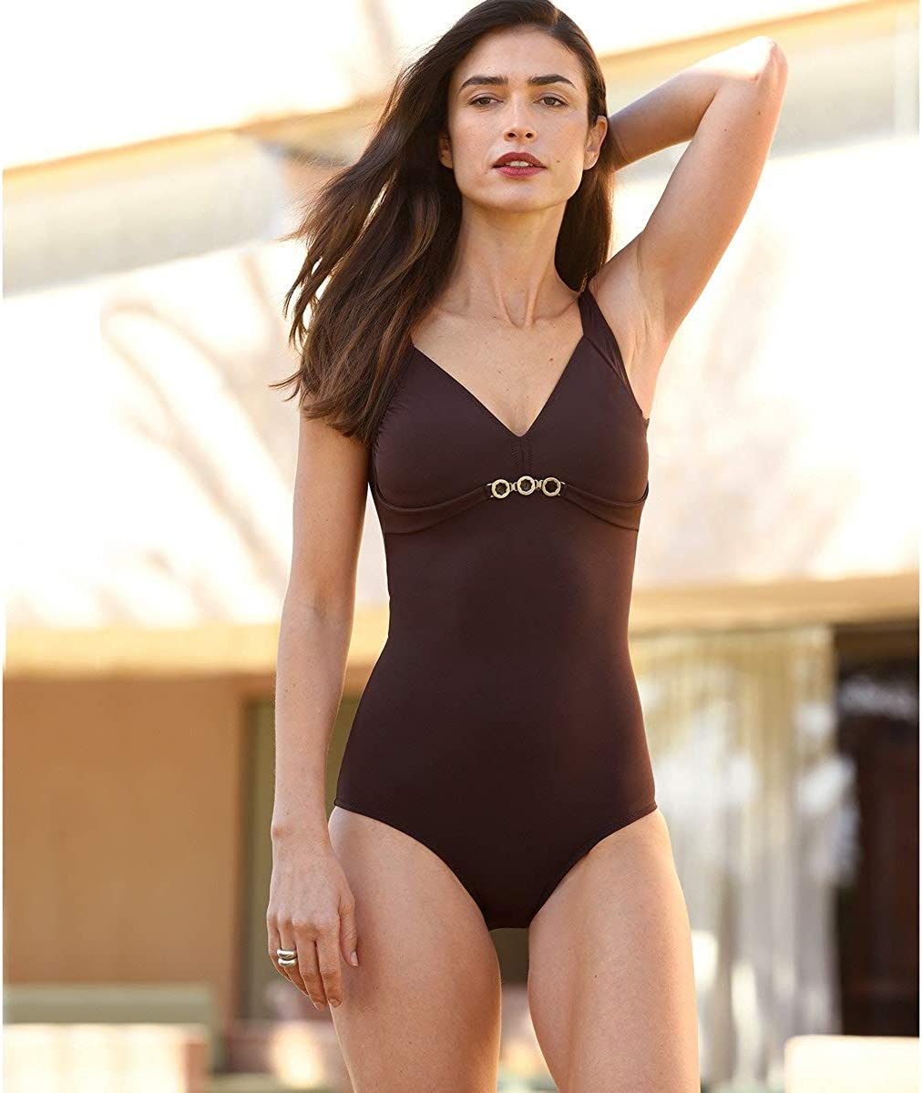La Redoute Womens Tummy-Toning Swimsuit