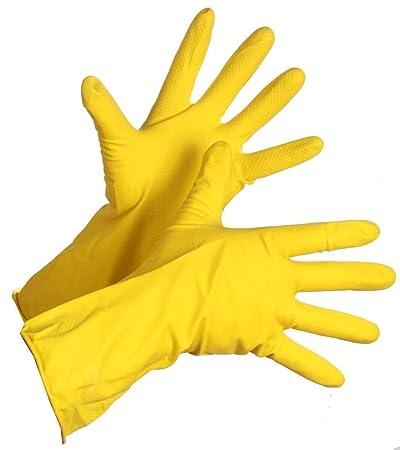 SellnShip Rubber Hand Gloves (Multicolour, Pack of 6)