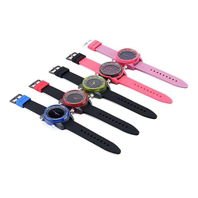 Youngs PS1500 - Smart Watch Deporte Reloj (Bluetooth Impermeable 100M, Compatible con IOS Android 4.3 Above)