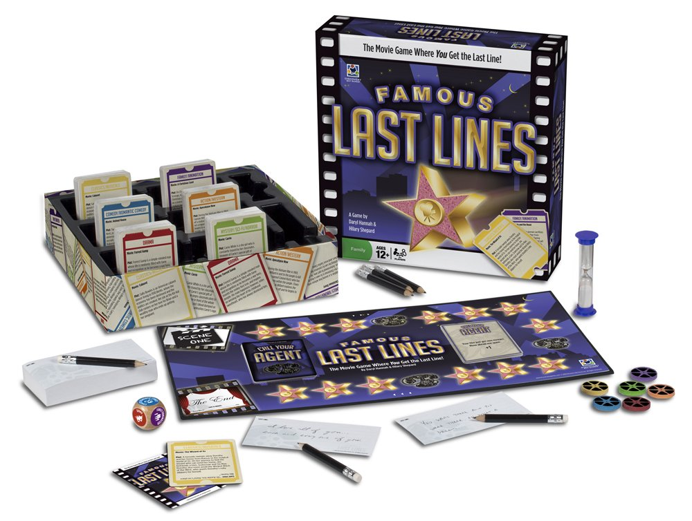 Famous Last Lines Cardboard Game