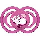 MAM 649022 Perfect, Ciuccio in Silicone Gr.3, Privo di BPA, 16+ Mesi, Bambina, Colori Asssortiti