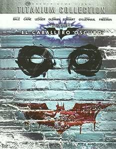 El Caballero Oscuro: Titanium Collection DVD + Libro