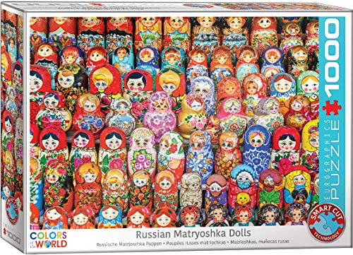 EuroGraphics 5420 Russian Matryoshka Dolls Puzzle (1000 Piece)