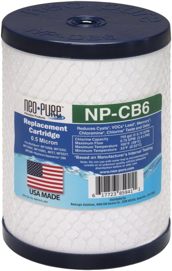 Replacement Filter for Multipure Drinking Water Filter System