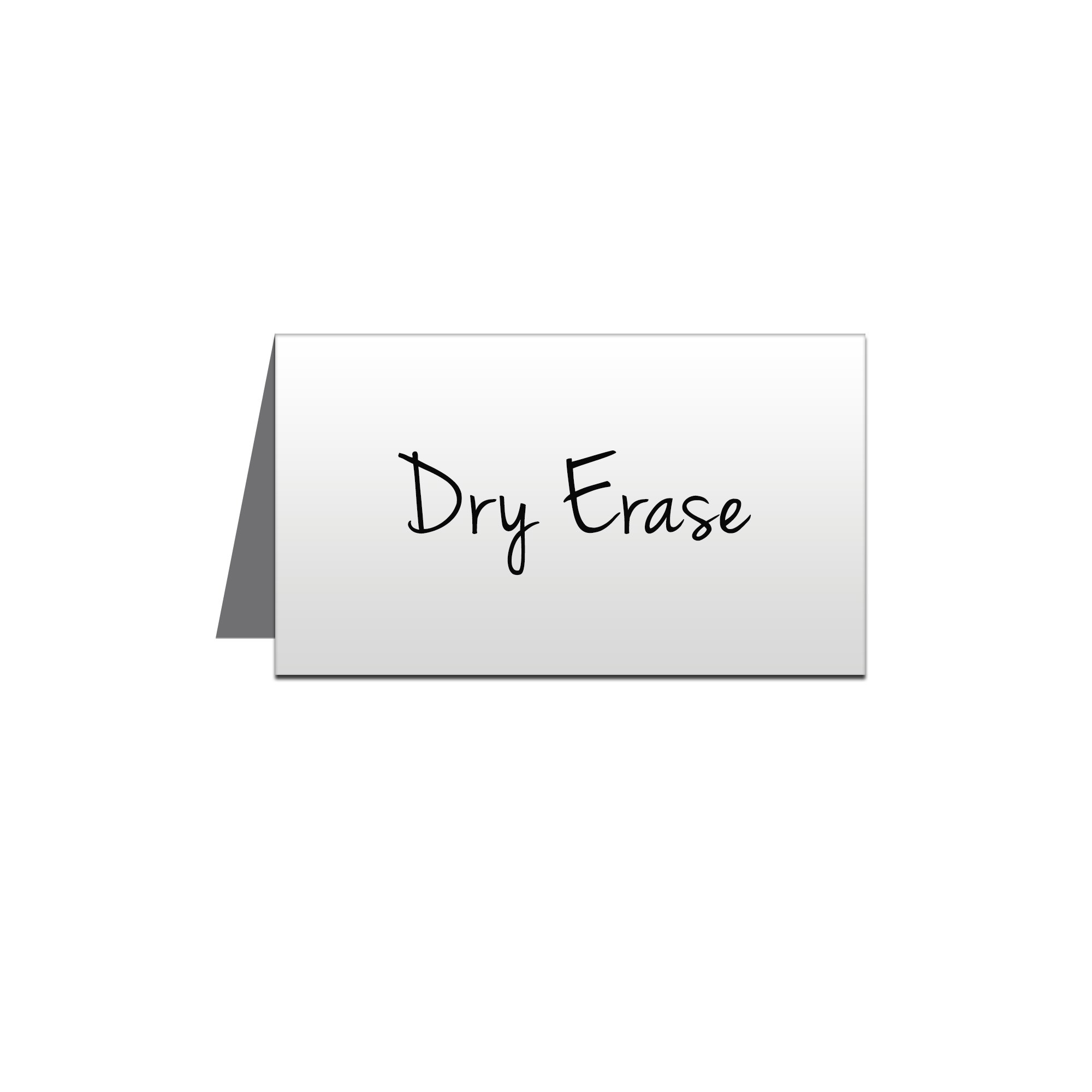 5 x 3 Write-on Metal Place Cards - Pack of 5 by NapTags