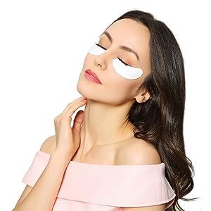 Beauty7 25 Paires Patchs Collagene Pour Extension de Cils Anti-Ride Eyepad