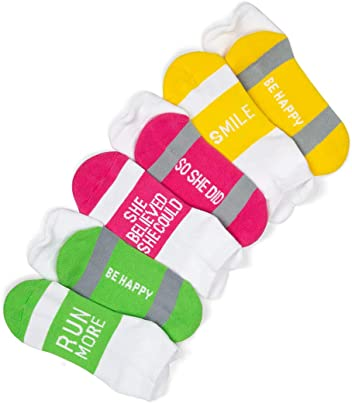 Inspirational Athletic Running Socks by Gone for a Run