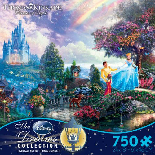 Thomas Kinkade: Cinderella Wishes Upon a Dream Puzzle, 750 pc