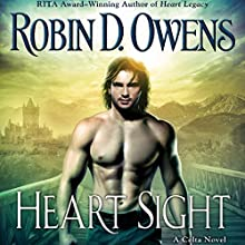 Heart Sight: Celta, Book 15 Audiobook by Robin D. Owens Narrated by Noah Michael Levine