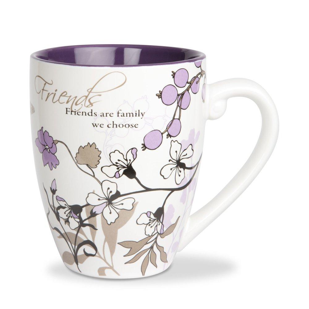 Pavilion Gift Company 66341 Friends Ceramic Mug, 20-Ounce, Mark My Words