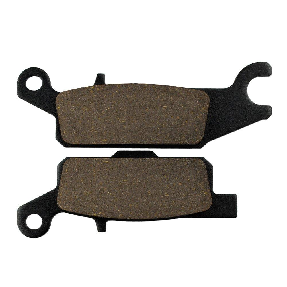 AHL Semi-metallic Rear Left Brake Pads FA445 for Yamaha YFM700 FGPW//FGPX//FGPY//FGPZ Grizzly 2007-2010