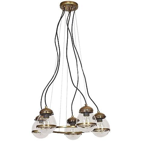 Forma Bonita lámpara colgante (Profundidad hasta: 0,9 m, 5 ...