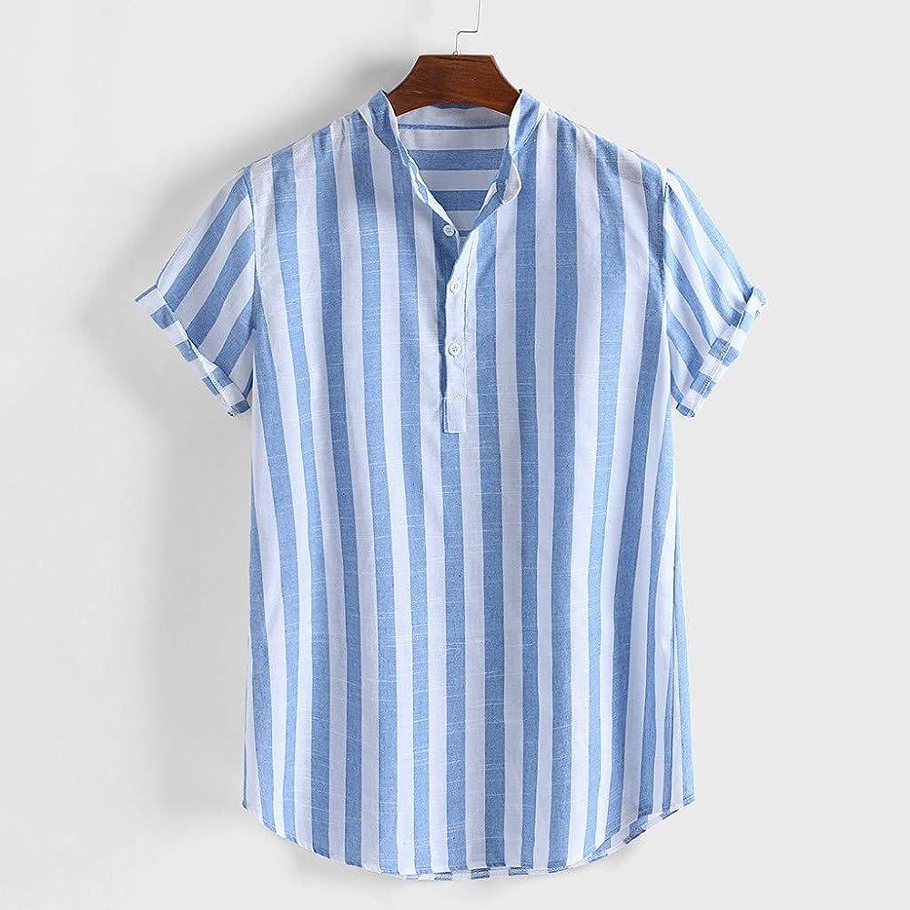FossenHom Camisas Hawaianas Hombre Camisas de Hombre de Moda 2020: Amazon.es: Ropa y accesorios