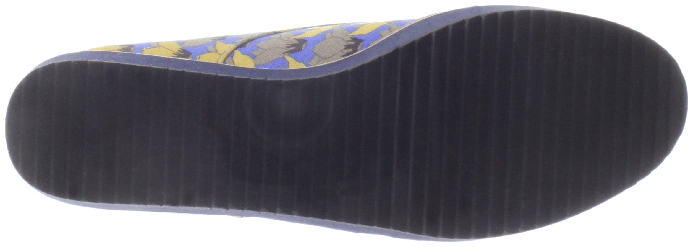 Bass Loves Rachel Antonoff Women's Fleur Loafer, Blue Floral, 6 M US by Bass Loves Rachel Antonoff (Image #3)
