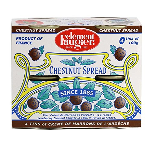 Clement Faugier - Gourmet Chestnut Spread from France, 4-PACK