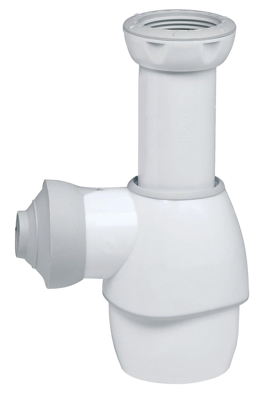 Wirquin 31180002 siphon universel pour lavabo blanc gris amazon fr bricolage