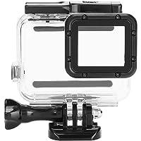 fosa Funda Impermeable para Go Pro Hero 7, Cubierta Protectora de para Buceo bajo el Agua, Normal, 45 m / 10 m, con Accesorios para la cámara de acción Go Pro Hero 7(Touch)