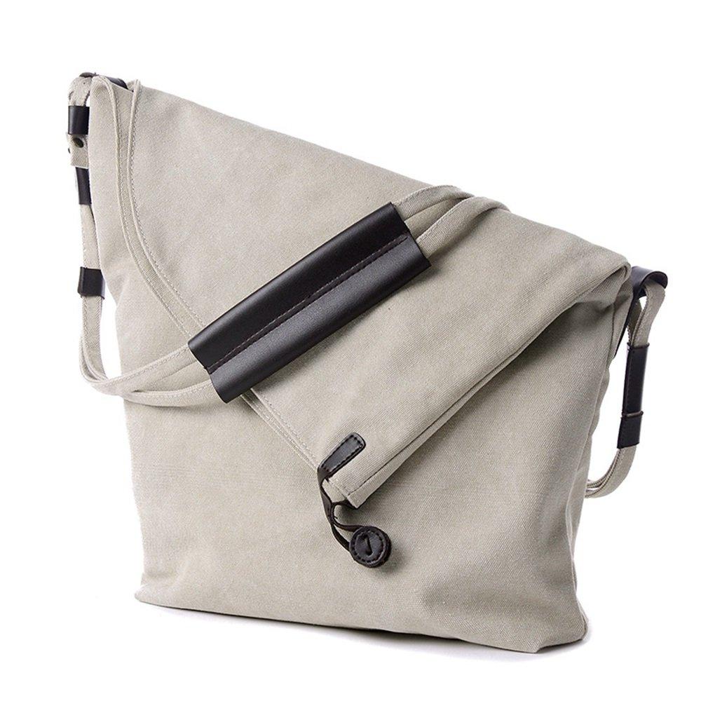 MALLTY Damen Multi-Tasche Baumwolle Canvas Canvas Canvas Handtaschen Schultertaschen Totes Geldbörsen (Farbe   Weiß) B07KF5WGQ8 Clutches Viele Sorten 92c21c