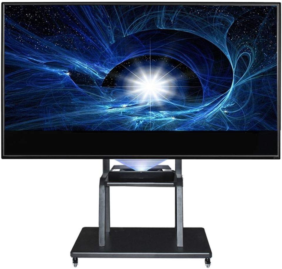 ZYH-Shelf Soporte para TV Móvil, Carro De TV con Ruedas para LCD ...
