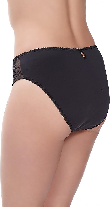 Fantasie Estelle Briefs Knickers Underwear Womens 9355 Black Various Sizes New