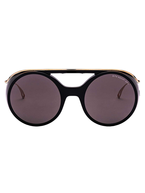 Dita Women's DTS1085601BLACKWHITEgold Black Acetate Glasses