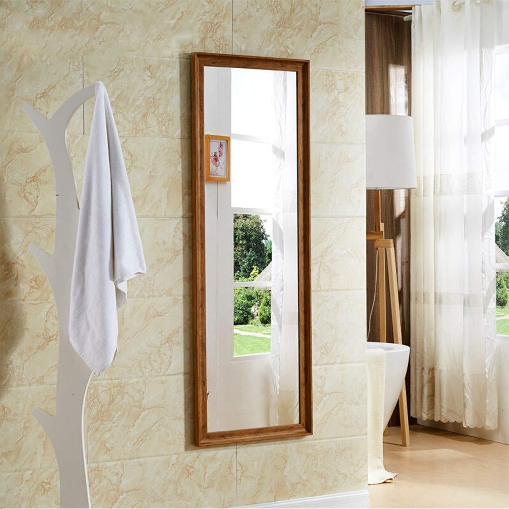 ヨーロッパのミニマリストの木製の穀物の壁に取り付けられた全身ミラーの衣料品店の床ミラー65 * 170 cm 528 (色 : B, サイズ さいず : 150*40cm) 150*40cm B B07SD56FCR