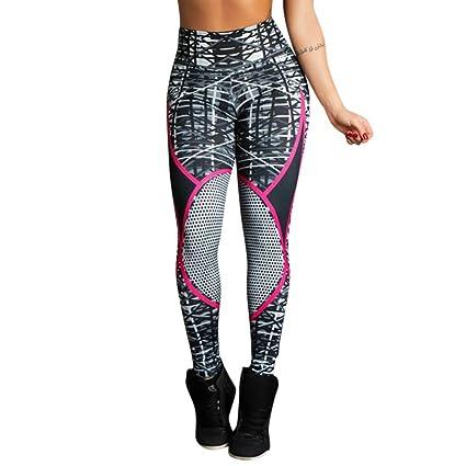 bbe6af366491c Dreamyth Womens Skinny Yoga Pants, Women's Print Workout Leggings Fitness  Sports Gym Running Yoga Athletic
