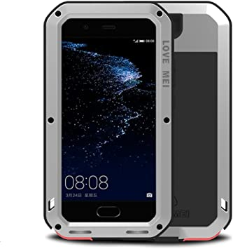 Huawei P10 Plus Funda, Love Mei Metal Aluminio Cover Extreme Alta ...