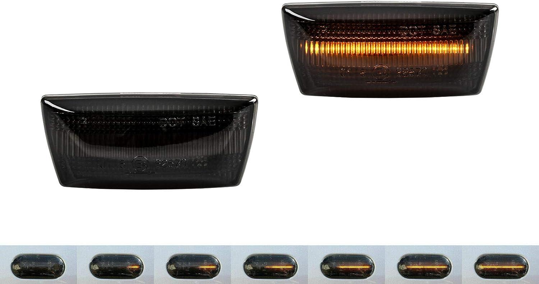 2 X Dynamische Led Seitenblinker Blinker Smoke Astra H J Corsa D E Sb15 Auto