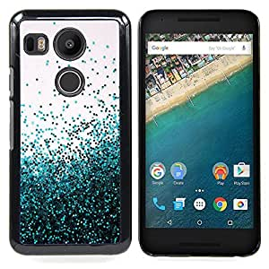 BullDog Case - FOR LG Google Nexus 5X - Flying Spring Blue Entropy Mess - Dise???¡¯???¡Ào para el caso de la cubierta de pl???¡¯????stico Chicas