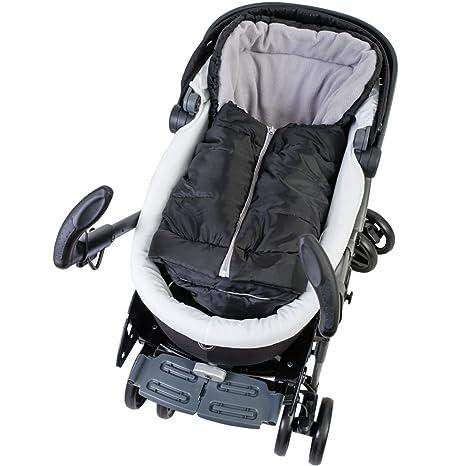 beige//whitewash Altabebe AL2211-8 Winterfu/ßsack 2 in 1 f/ür Babyschale und Kinderwagen