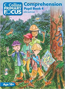Book Collins Primary Focus - Comprehension: Pupil Book 4