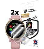 IPG for Garmin vívoactive 4S Smartwatch Screen Protector (2 Units) Invisible Ultra HD Clear Film Anti Scratch Skin Guard…