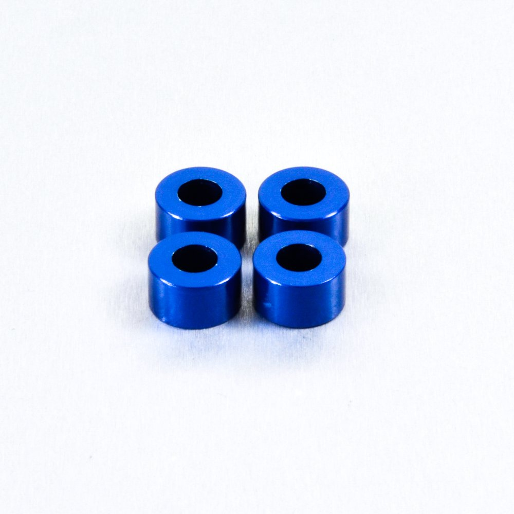 Aluminium Cup Washer M5 Blue by Pro-Bolt (Image #2)