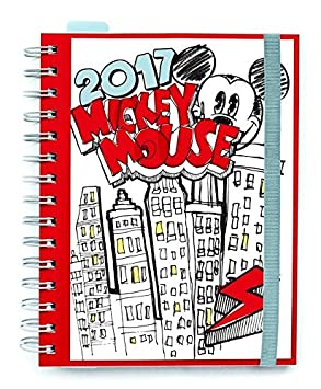 Grupo Erik Editores Disney Adult - Agenda 2017 Semana Vista, 15.5 x 19 cm